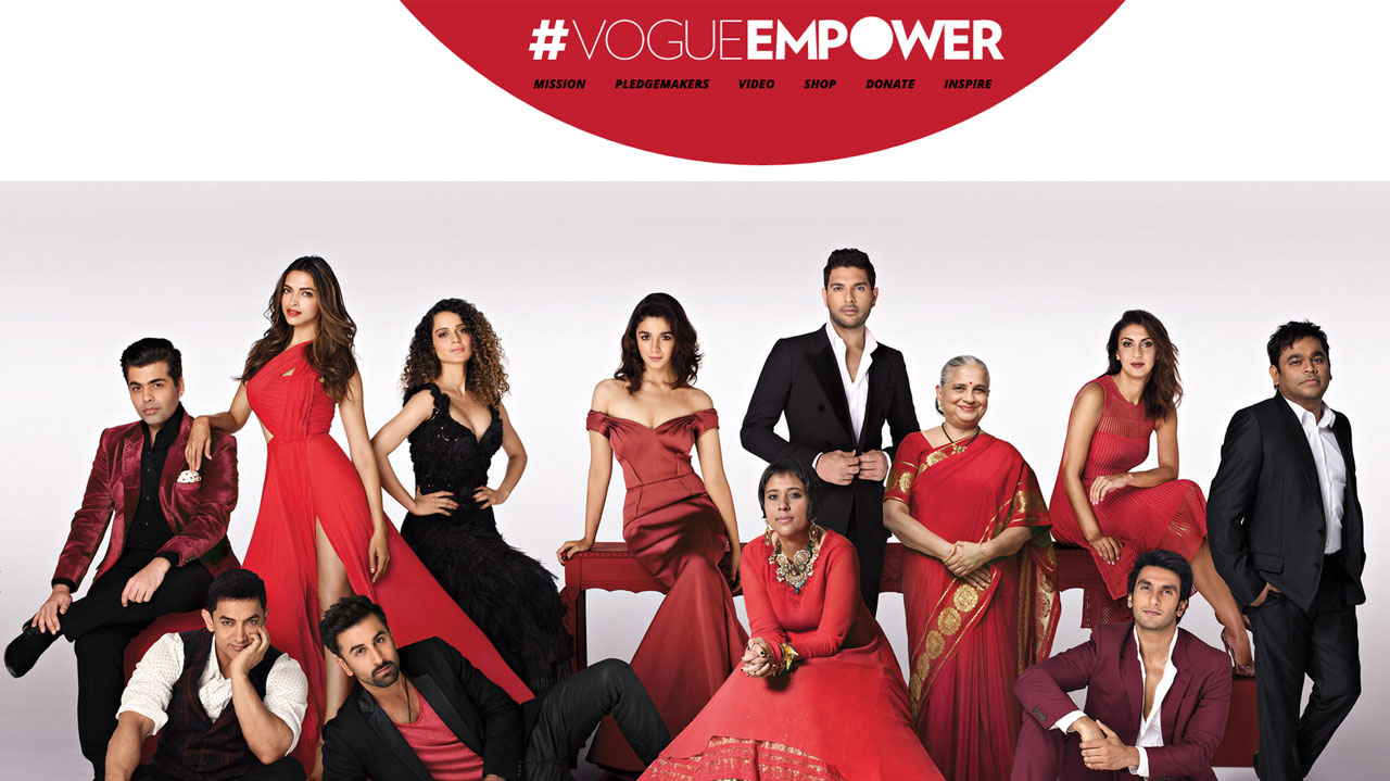 Vogue Empower Website